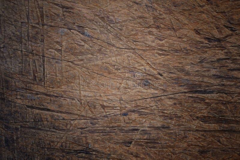 老被抓的木头表面  免版税库存照片