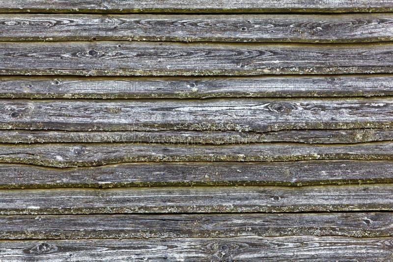老被风化的和灰色木柱 免版税库存照片