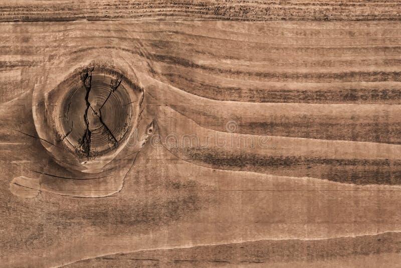 老被风化的破裂的被打结的板条-细节 库存图片
