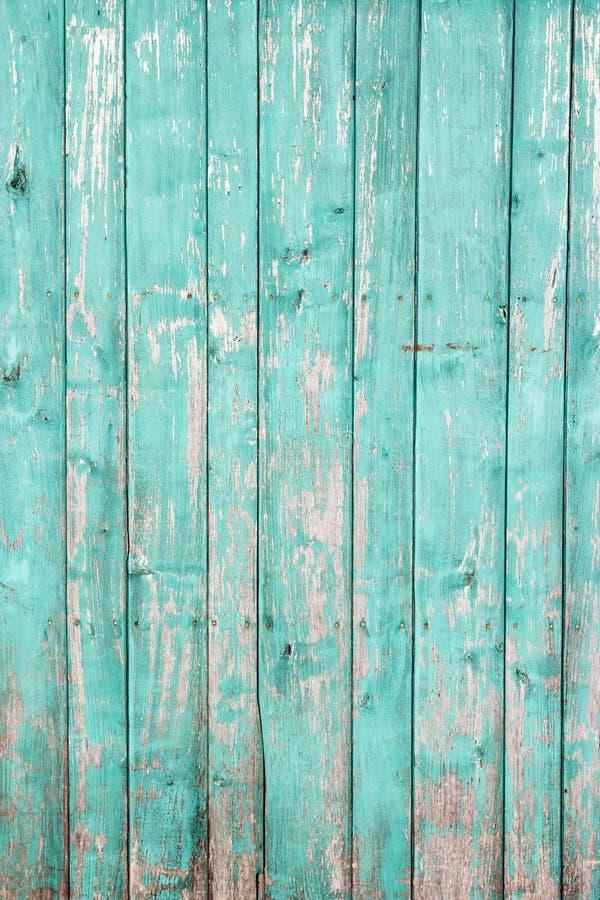 老被绘的木墙壁-纹理或背景 库存图片