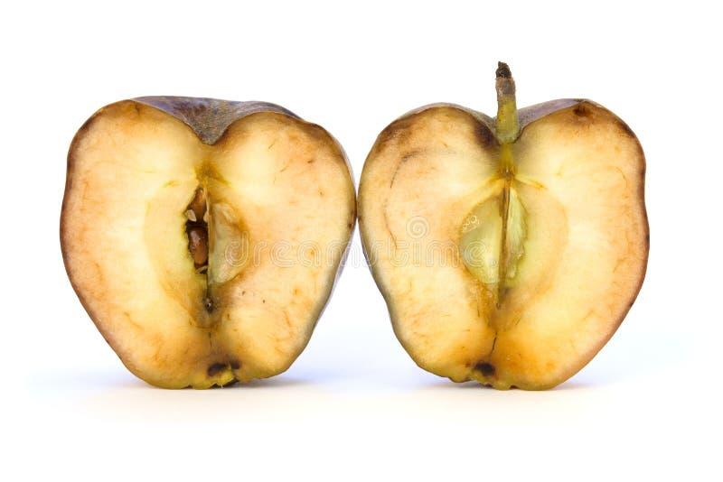 老裁减苹果计算机 免版税库存图片