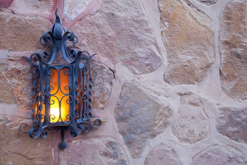 老装饰灯笼 库存图片