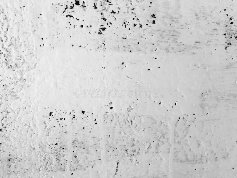 老褴褛灰泥膏药墙壁纹理 破裂的背景 免版税库存照片
