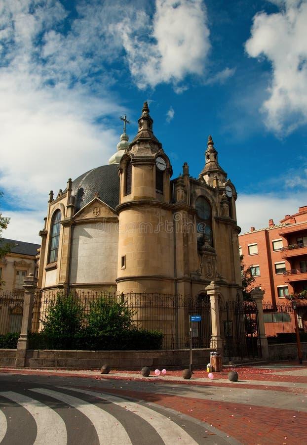 老西班牙城镇 库存照片