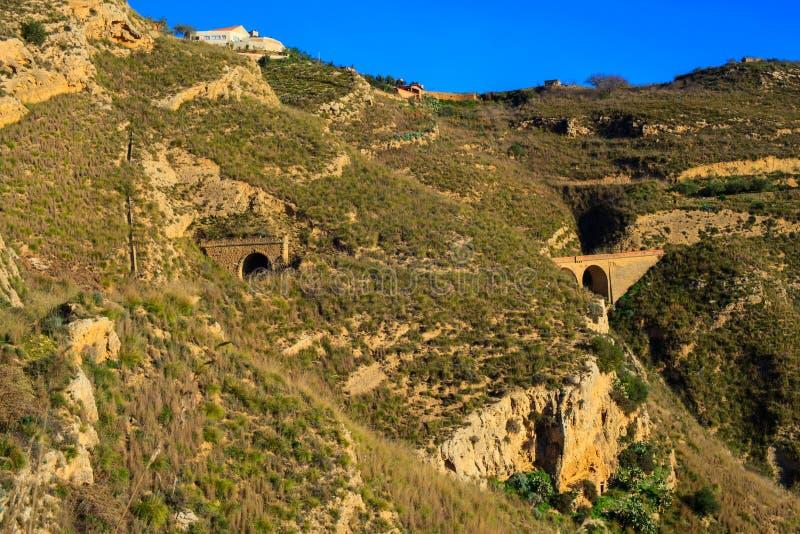 老西西里人的铁路 库存照片