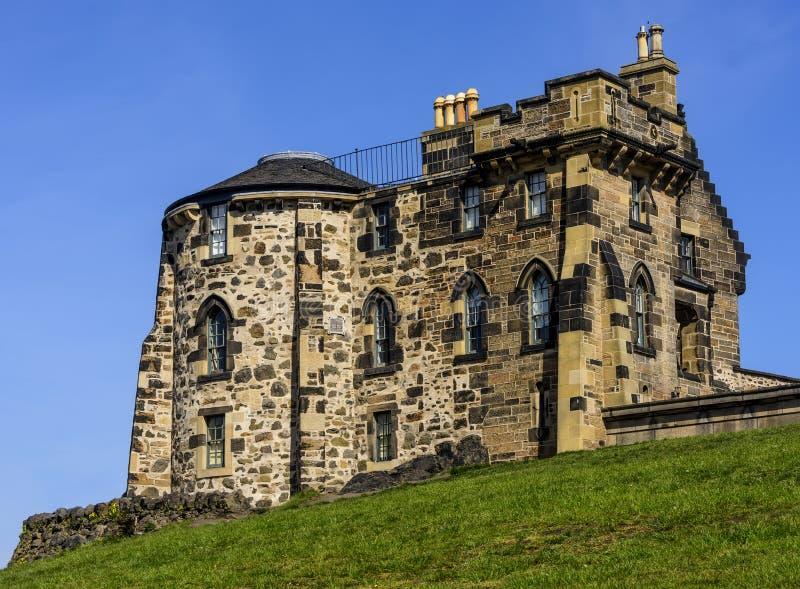 老观测所议院在爱丁堡,苏格兰 库存照片