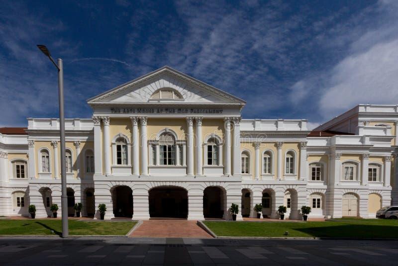 老议会大厦的艺术议院在新加坡 图库摄影