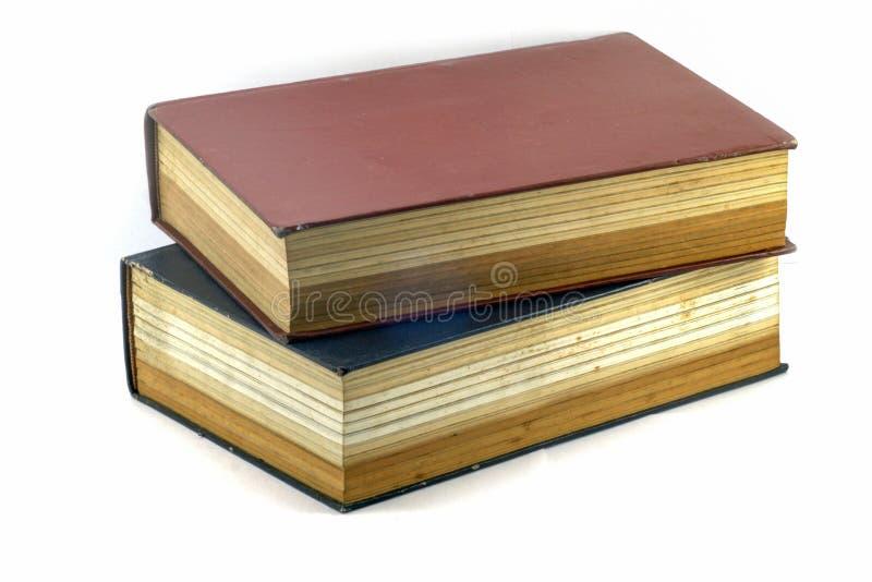 老课本或圣经 库存图片