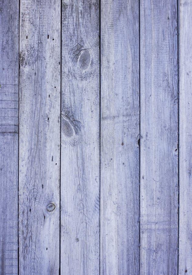 老谷仓木灰色蓝色板条门装饰了纹理背景ver 免版税库存照片