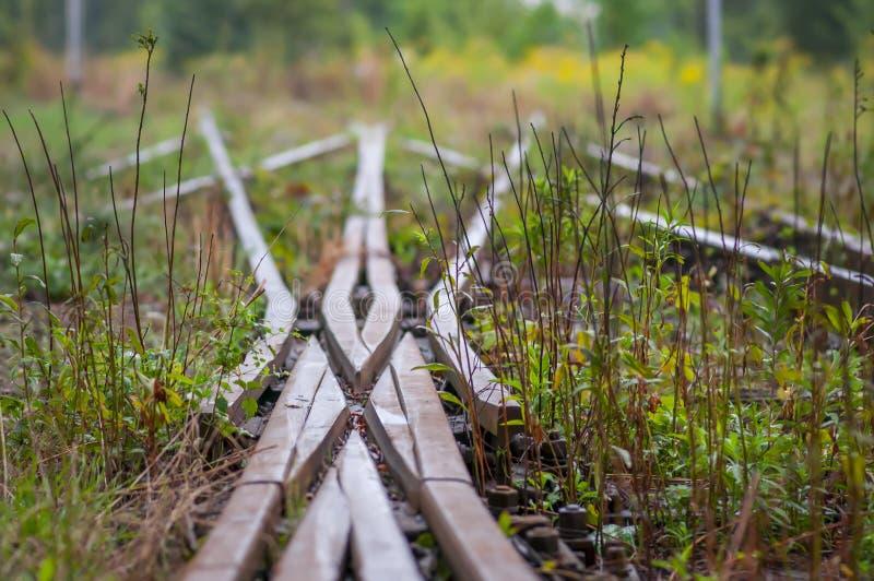 老路轨x连接点, Juntion,合并 图库摄影