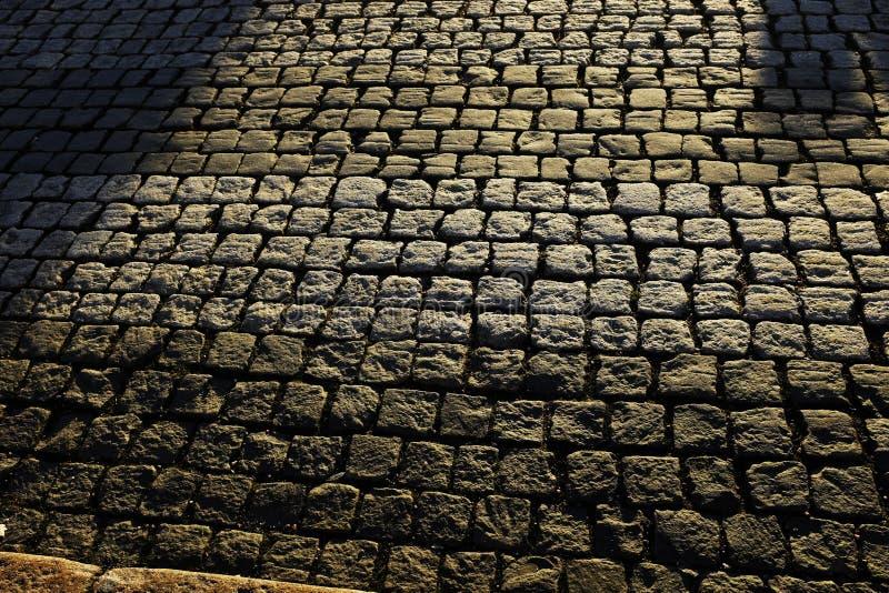 老路面石头 库存图片