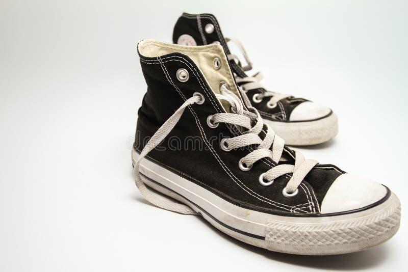 老运动鞋 图库摄影