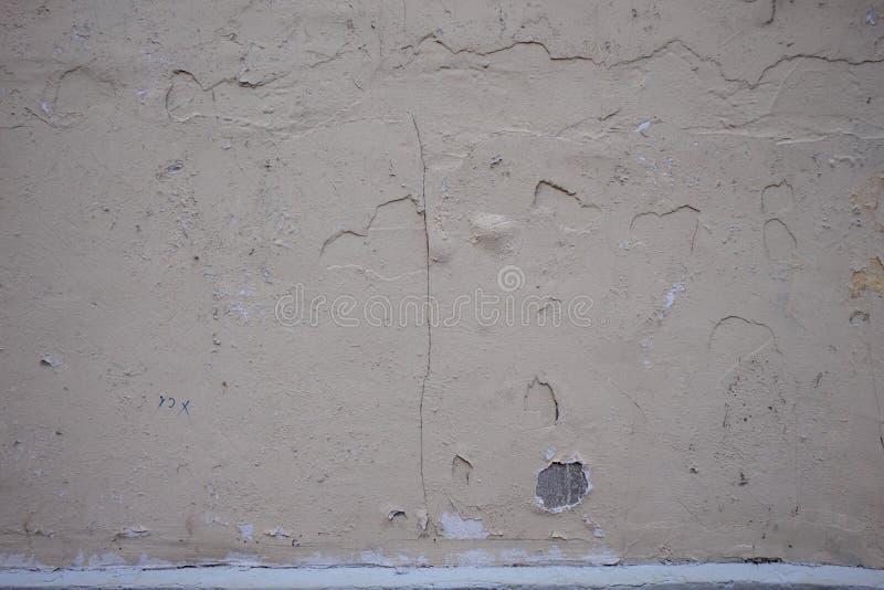 老酥脆油漆墙壁纹理 库存图片