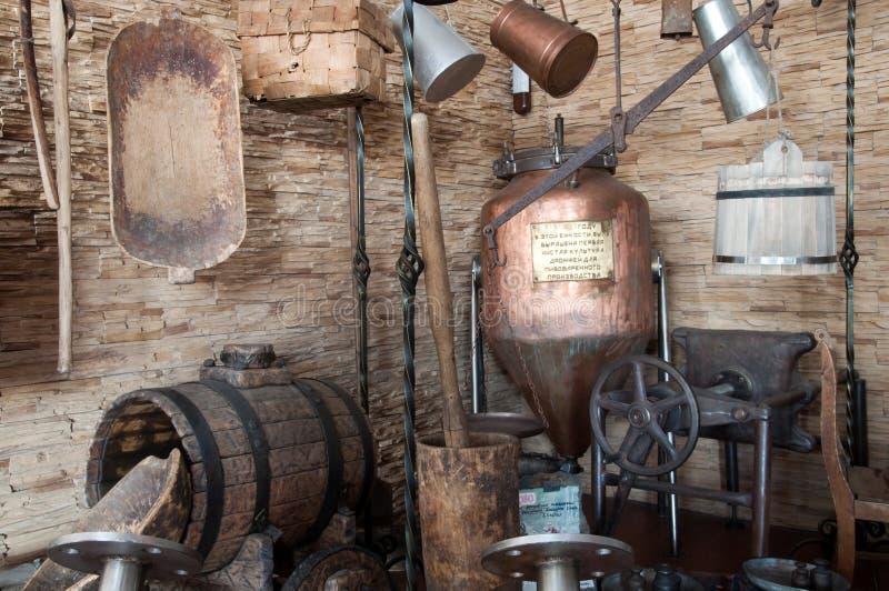 老酿酒厂 免版税图库摄影