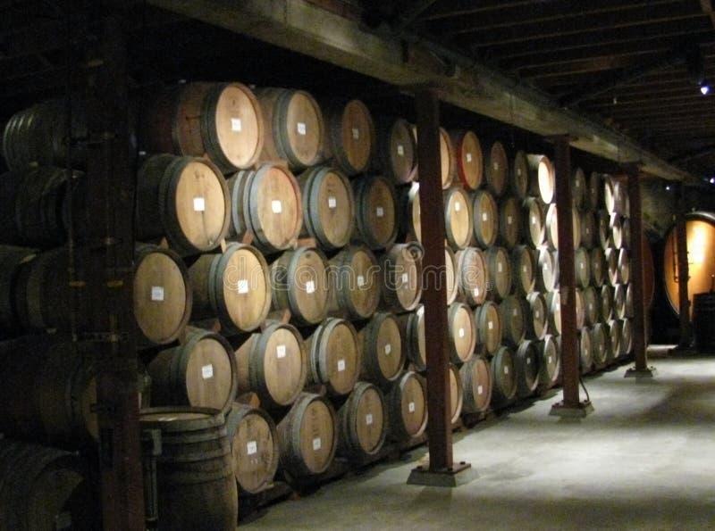 老酿酒厂 免版税库存照片