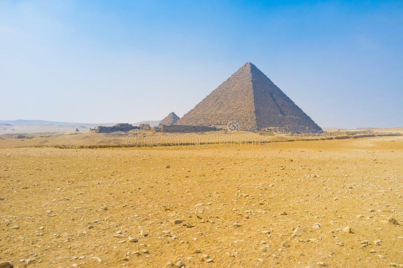 老金字塔 免版税库存照片