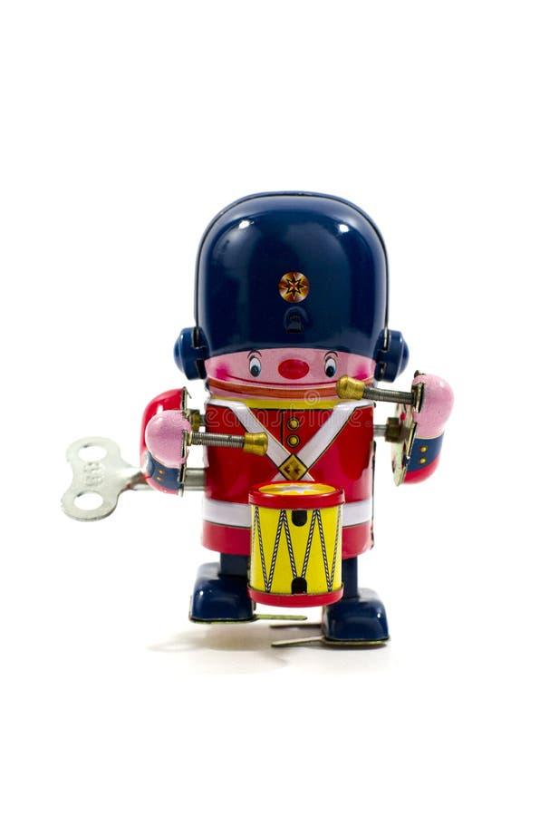 老金属玩具 免版税图库摄影