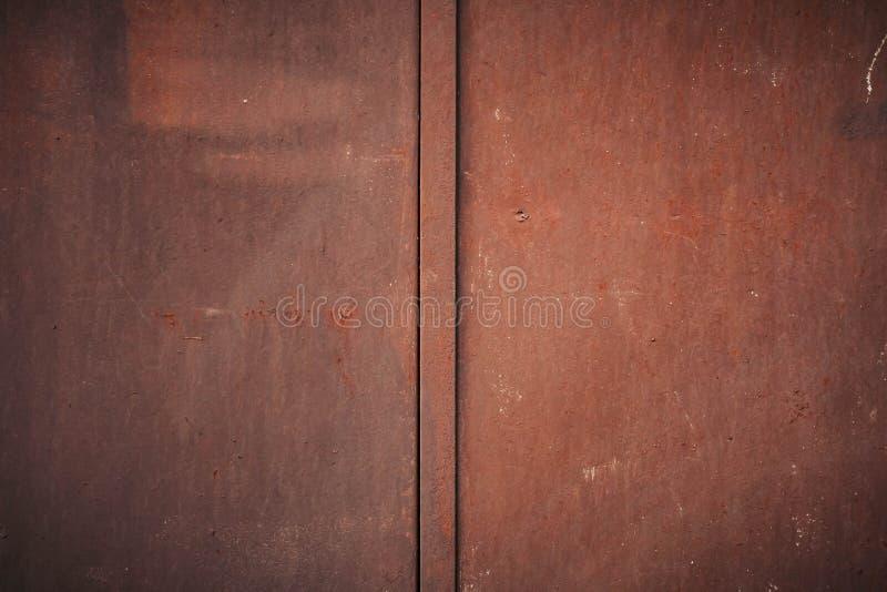 老金属铁铁锈纹理 免版税图库摄影