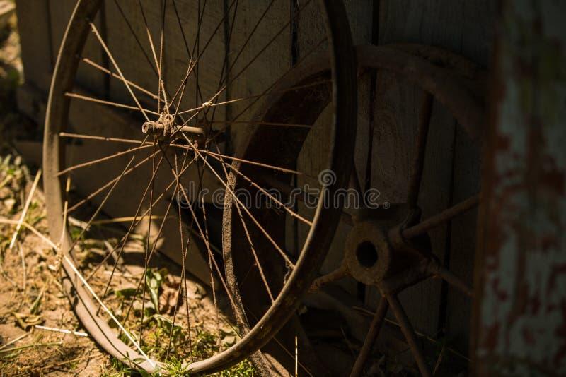 老铁轮子 免版税库存图片