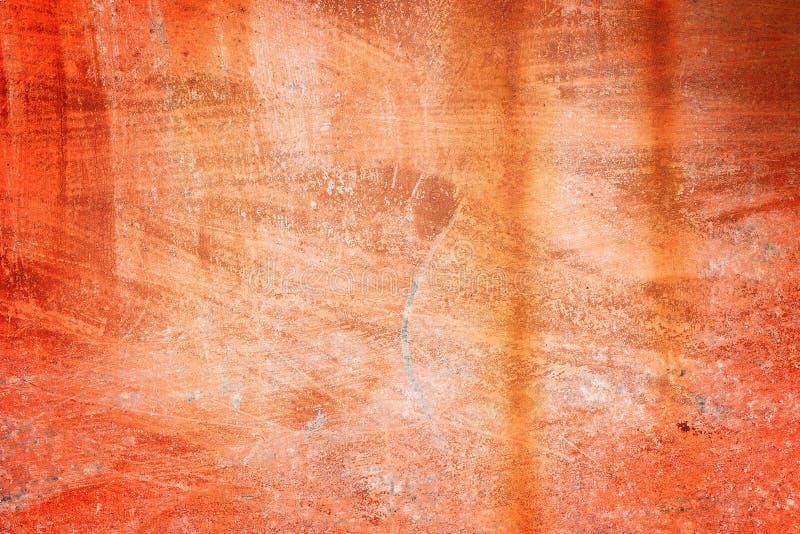 老铁锈红色背景 免版税库存照片