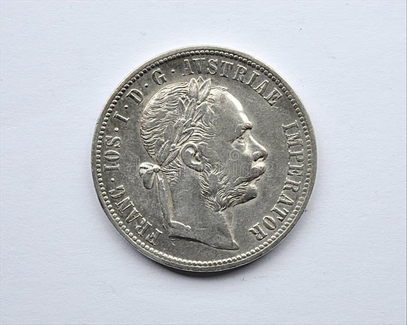 老银币、奥地利和匈牙利 免版税库存图片