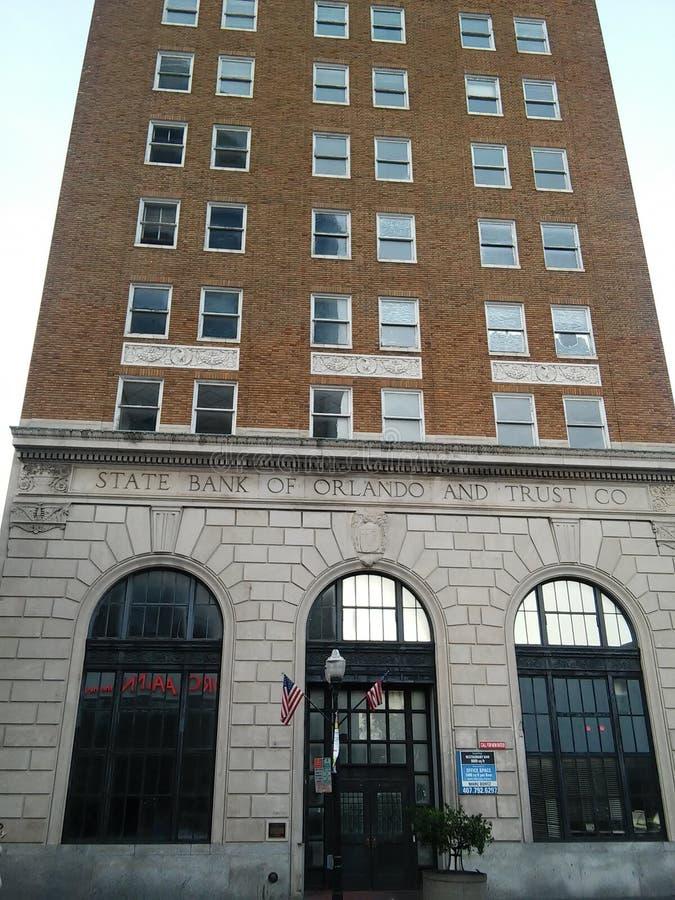 老银行大楼 库存照片