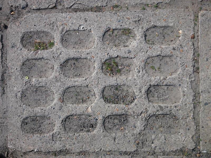老铺的小的石头街道城镇 库存图片