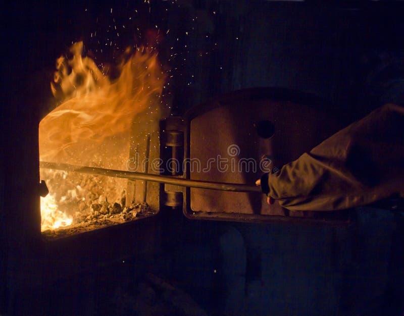 老锅炉房 免版税图库摄影