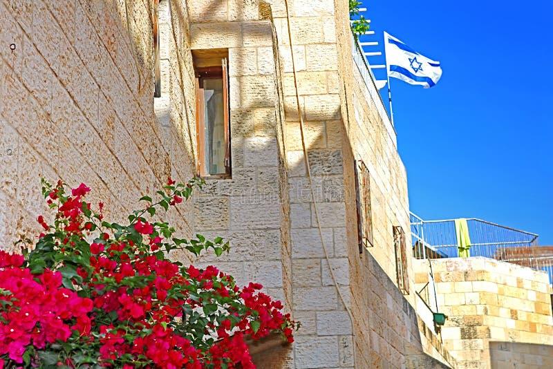 老镇在耶路撒冷,以色列,中东 图库摄影