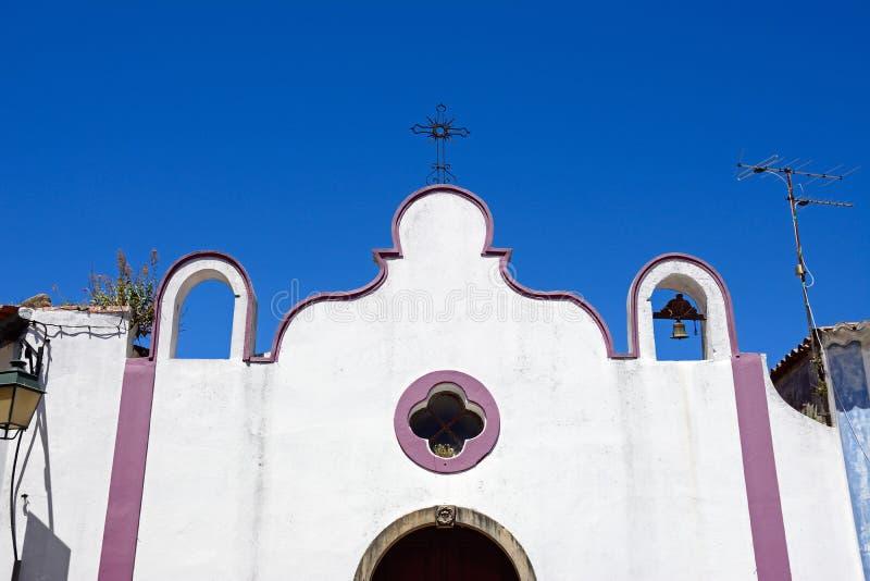 老镇教会, Monchique 免版税库存图片