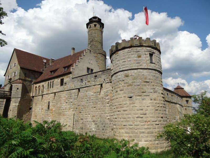 老镇阿尔腾堡,德国 免版税库存图片