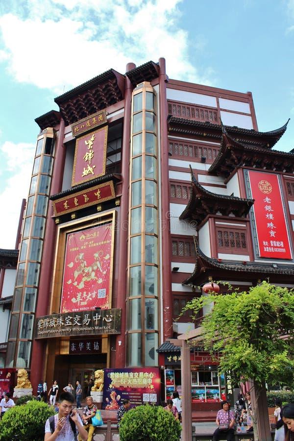 老镇,上海 库存照片