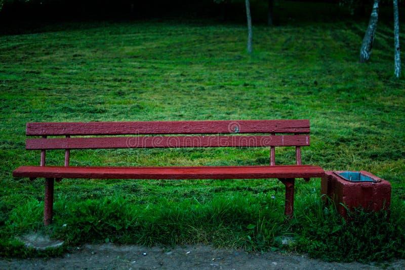 老长凳就座 免版税图库摄影
