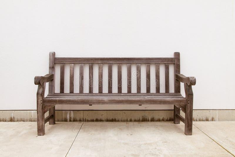 老长木凳 库存照片