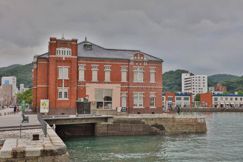 老门司风俗在北九州,日本 免版税库存照片