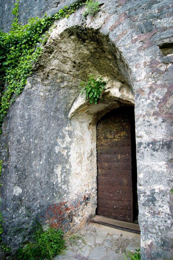 老门在堡垒Shpanola 库存图片