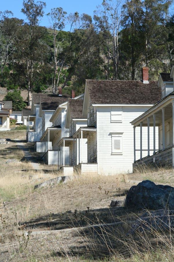 老阵营的雷诺兹历史的白色房子 库存图片