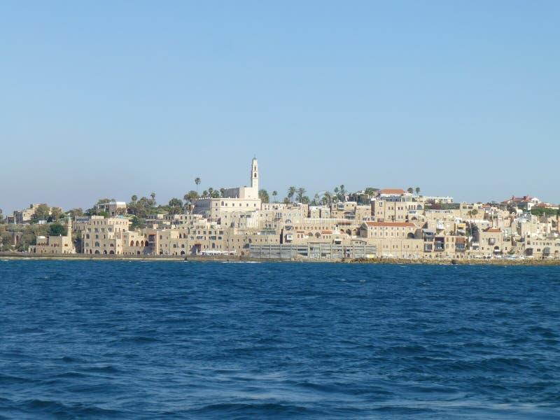 老阿拉伯城市海景  免版税库存图片