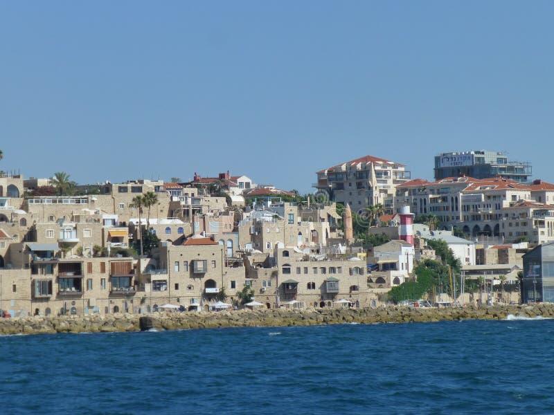 老阿拉伯城市的建筑学地中海的 免版税库存图片
