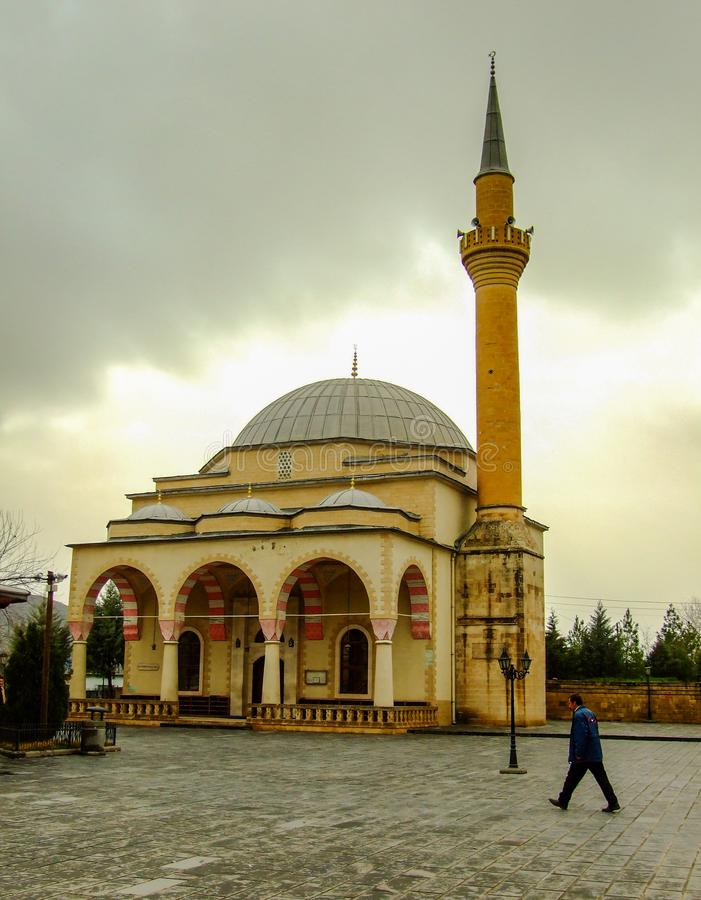 老陵墓在Uveys-i科勒尼锡尔特,土耳其陵墓  库存照片