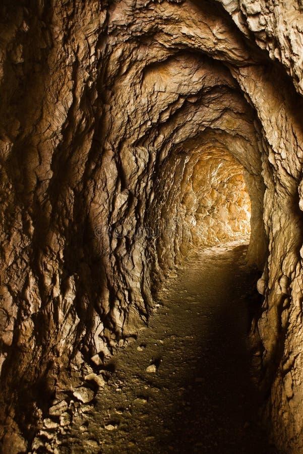 老隧道 库存照片