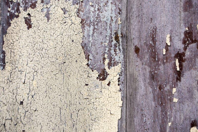 老颜色木纹理背景 免版税库存照片