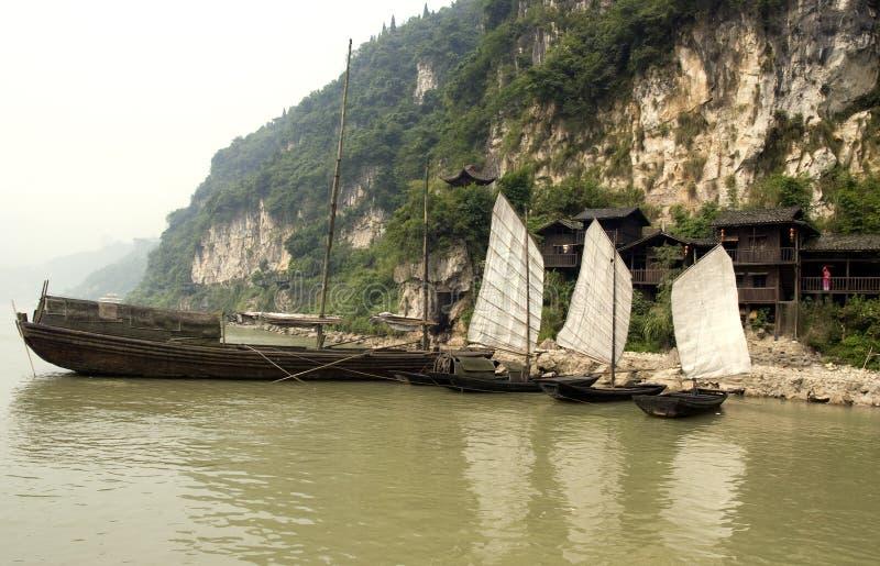 老风船样式 免版税库存图片