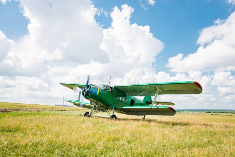 老飞机 库存照片