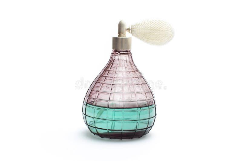 老香水瓶 免版税库存图片