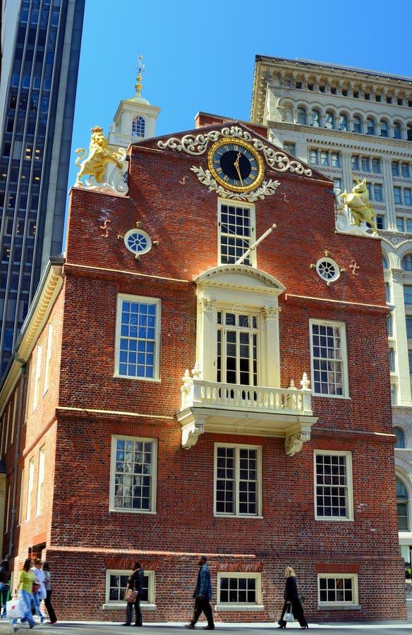 老马萨诸塞状态之家 免版税库存图片