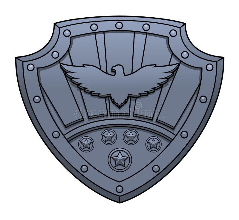 老鹰标志 库存例证
