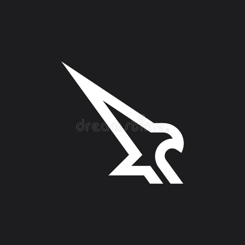 老鹰标记 免版税图库摄影