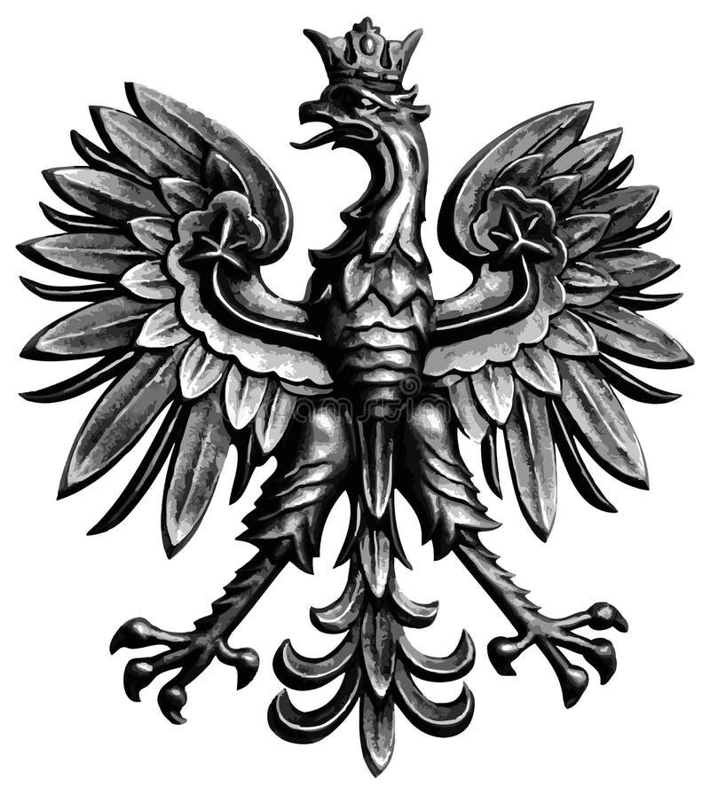 老鹰波兰 库存例证