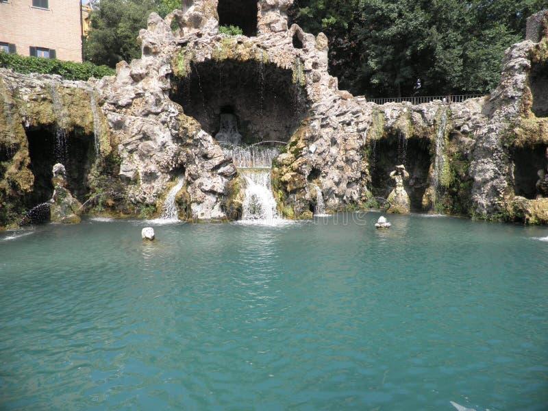 老鹰的喷泉 图库摄影
